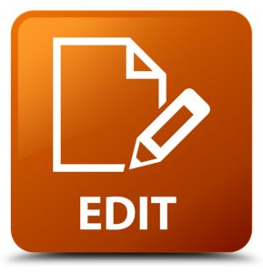 Editing proposals - content editing
